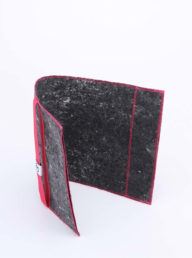 """Dobrý"" obal na knihu s ružovou gumou FOREWEAR"
