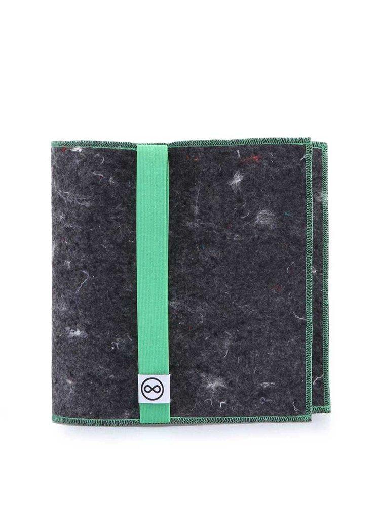 """Dobrý"" obal na knihu se zelenou gumou FOREWEAR"