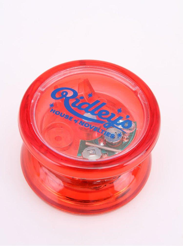 Červené jojo se světelnými efekty Ridley's Butterfly