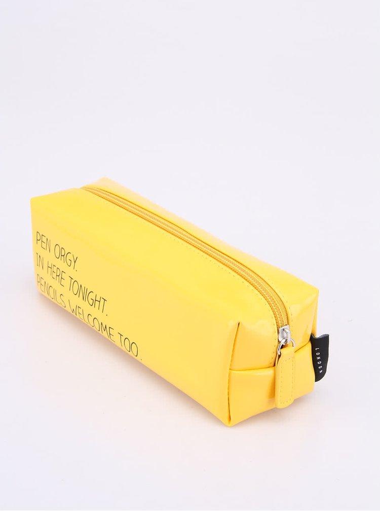 Žlutý penál Happy Jackson