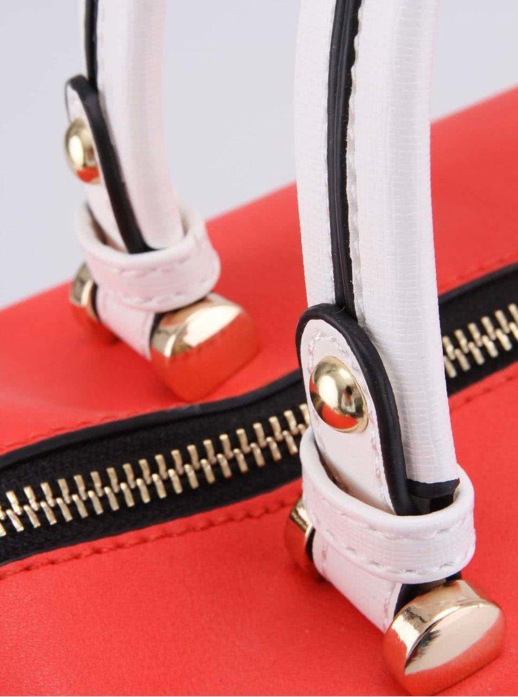 Béžovo-červená kabelka Gionni Orlaya