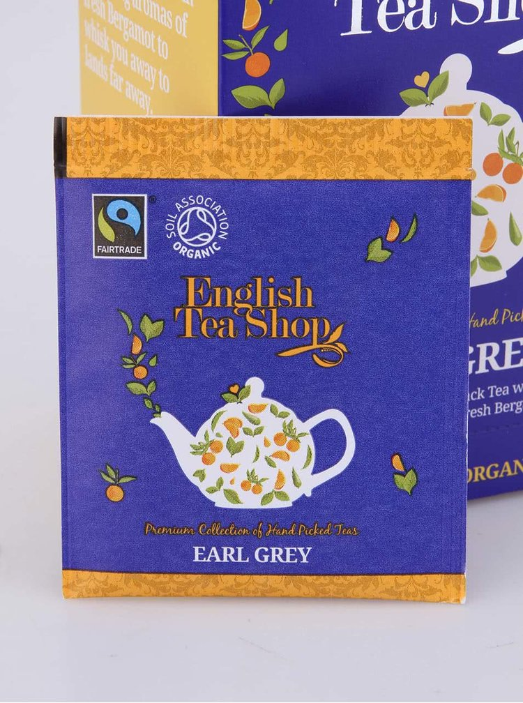 Černý čaj Earl Grey English Tea Shop Bio