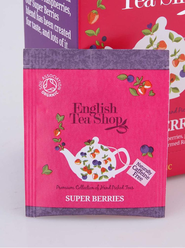 Ceai organic din fructe de padure  English Tea Shop