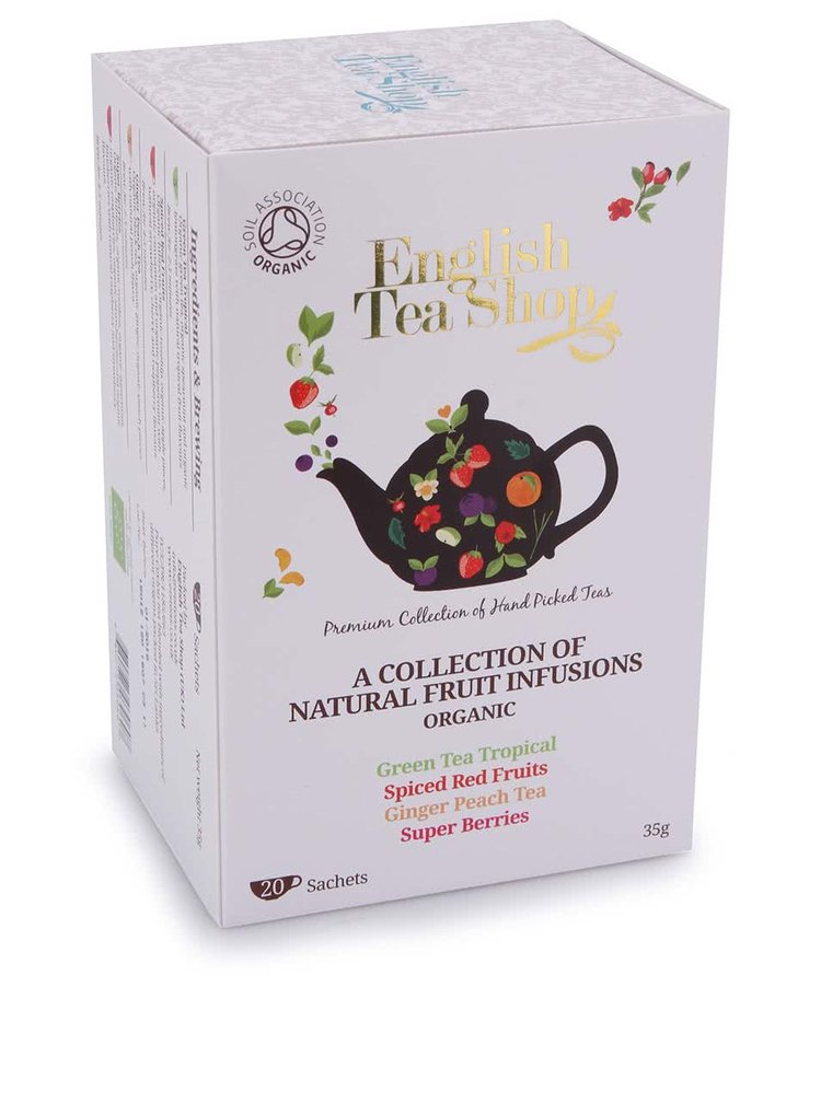 Mix ovocných čajů English Tea Shop Bio