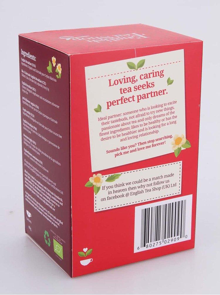 Ovocný čaj English Tea Shop Kořeněné červené Ovoce Bio