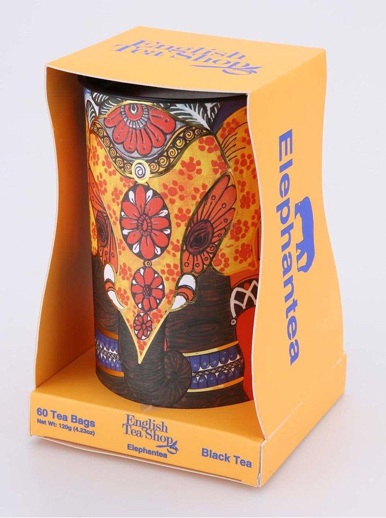 Dárkové balení černého čaje v dóze English Tea Shop