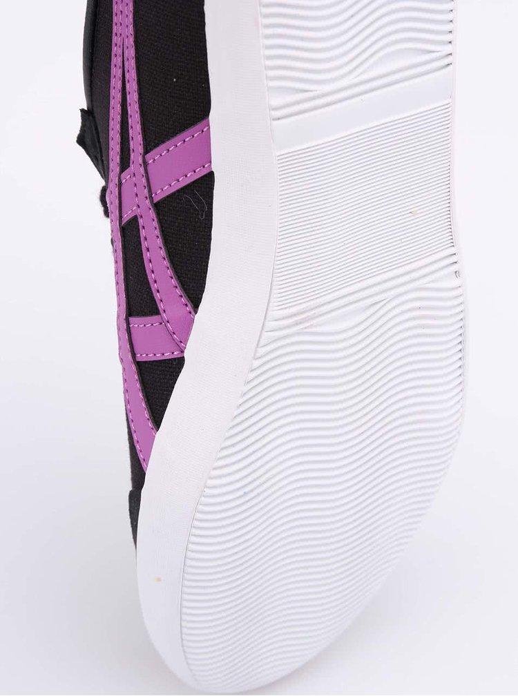 Fialovo-černé dámské tenisky Onitsuka Tiger Mexico 66 VULC