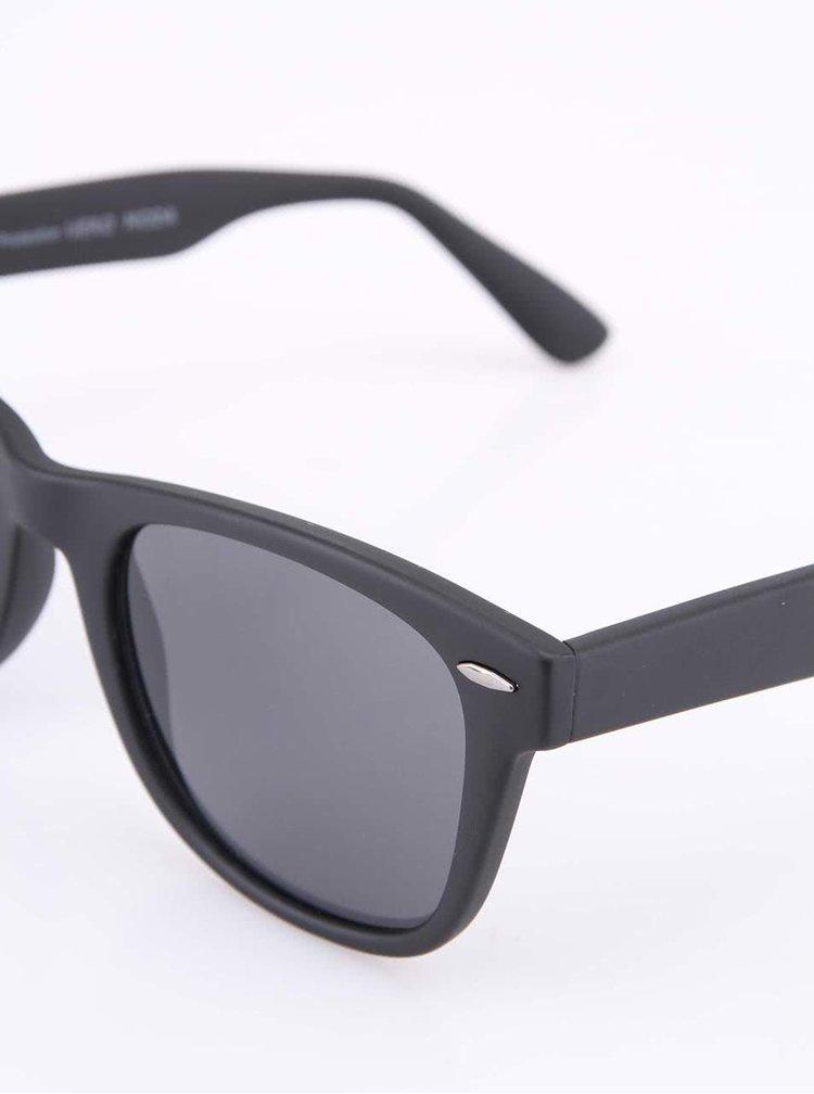 Čierne matné slnečné okuliare VERO MODA Phantom