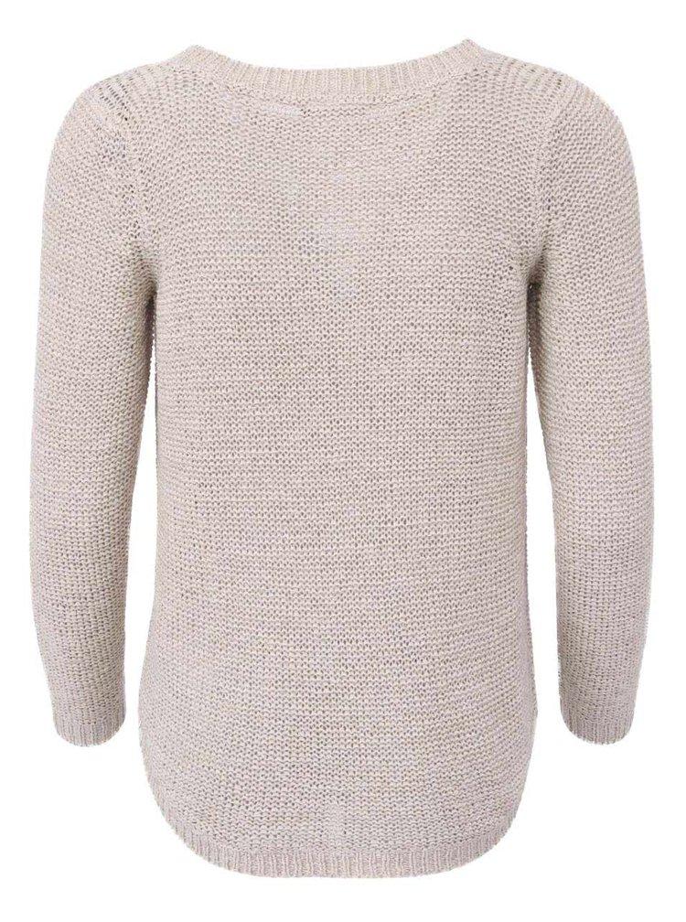 Béžový svetr ONLY Geena