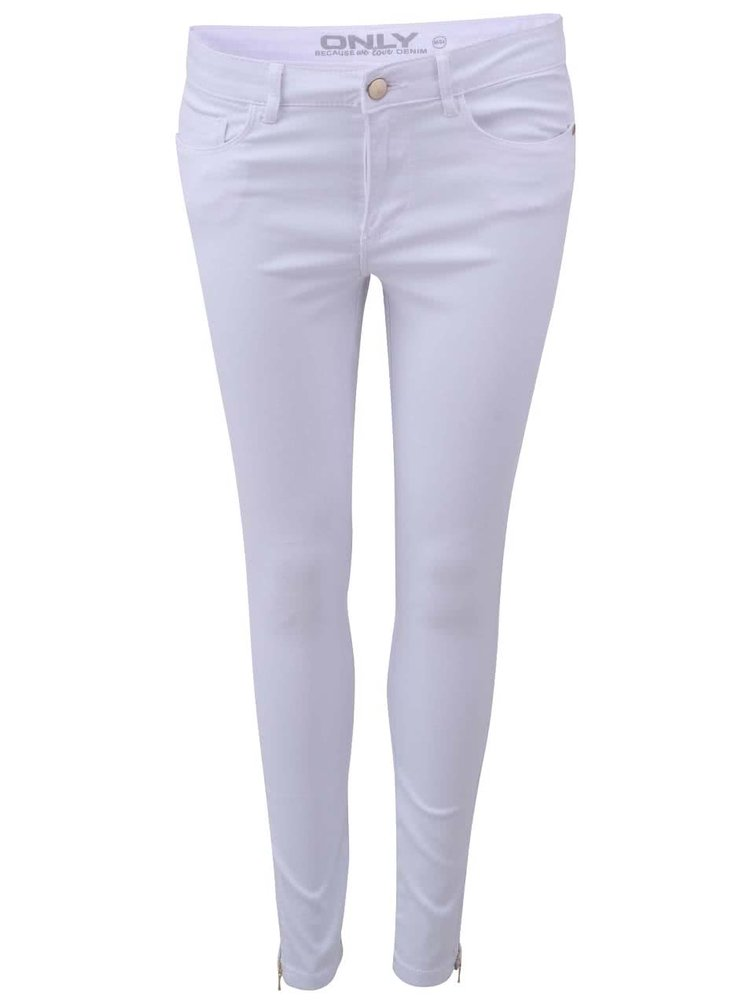 Bílé džíny ONLY Royal