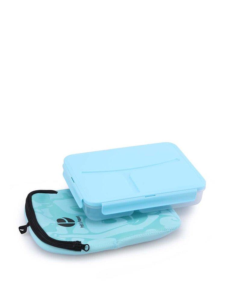 Cutie pentru mâncare de la Prêt à Paquet - albastru deschis