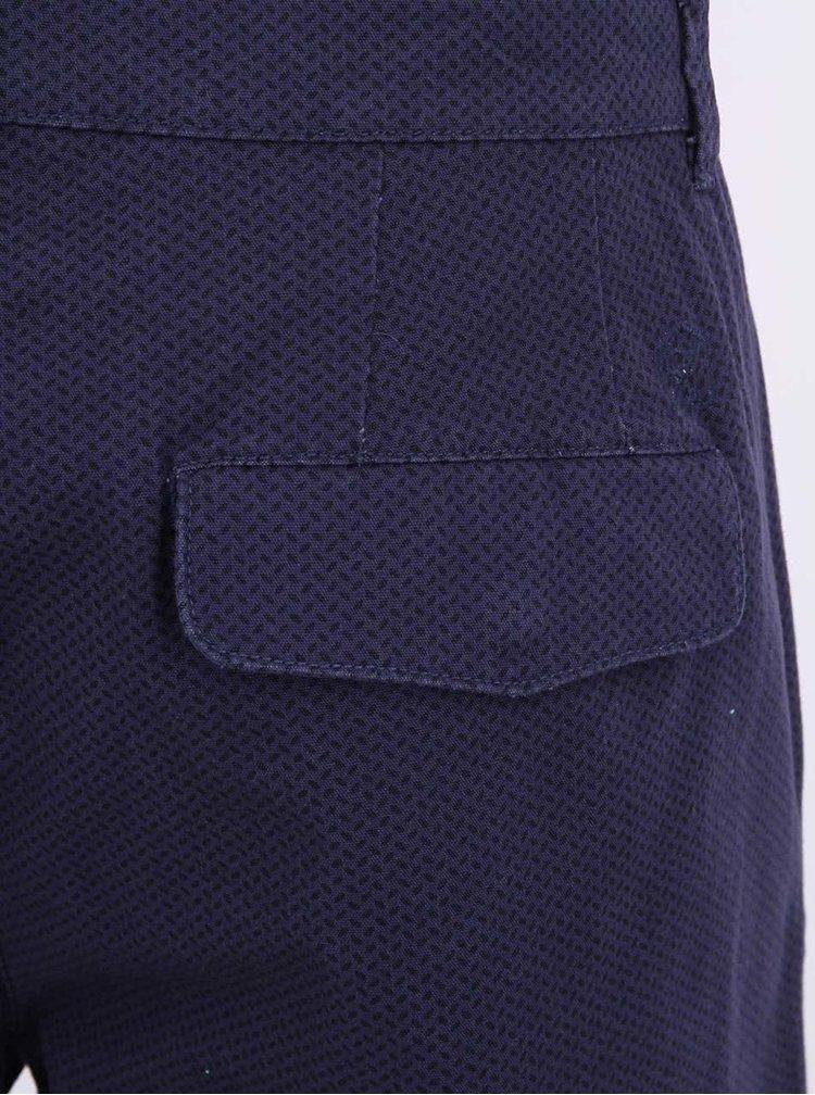 Pantaloni scurți bleumarin cu imprimeu Casual Friday by Blend