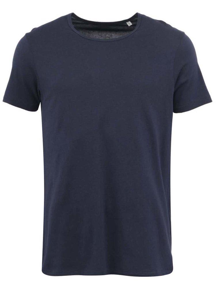 Tmavomodré pánske tričko Stanley  & Stella Adores