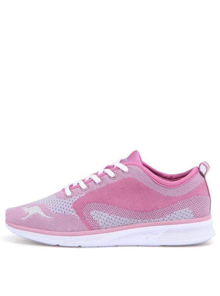 Pantofi sport de damă K-Light KangaROOS - roz și gri