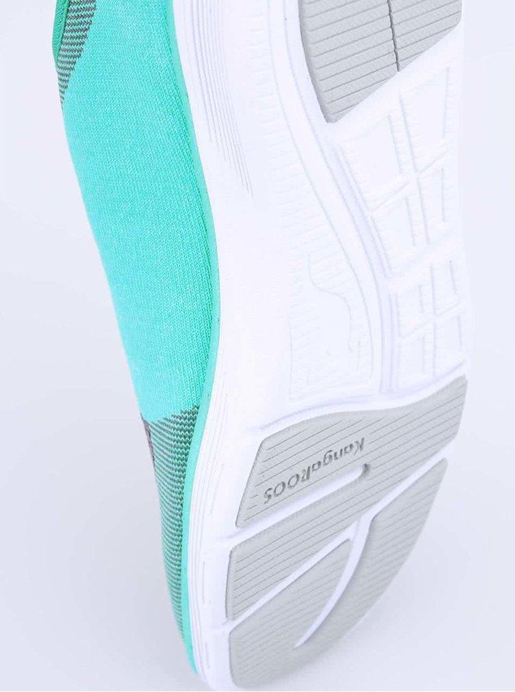 Tyrkysovo-sivé dámske športové tenisky KangaROOS K-Light