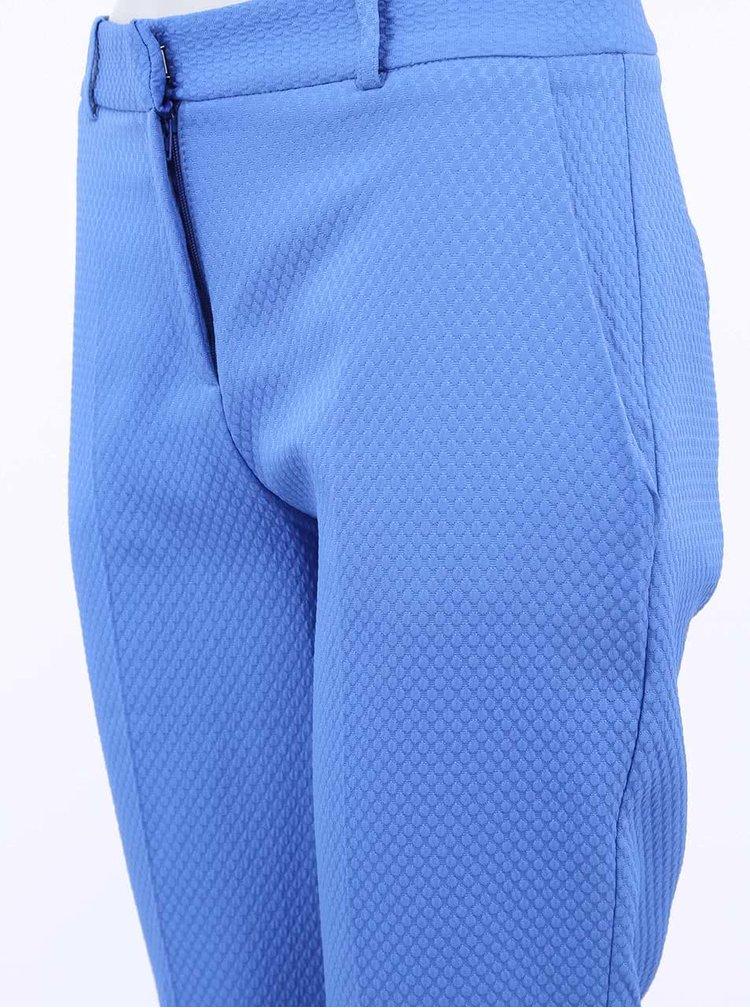 Modré osminkové kalhoty Almari
