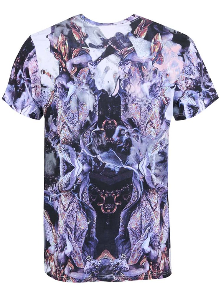 Farebné pánske tričko s potlačou Eleven Paris Altatu