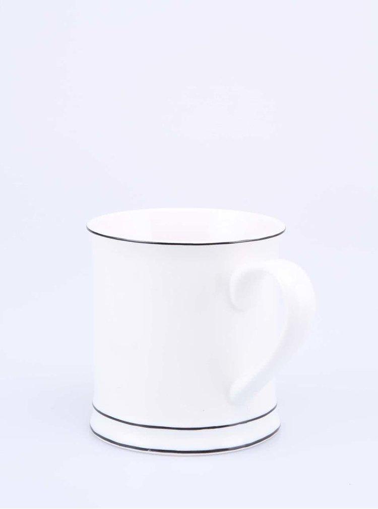 Biely porcelánový hrnček Sass & Belle MR