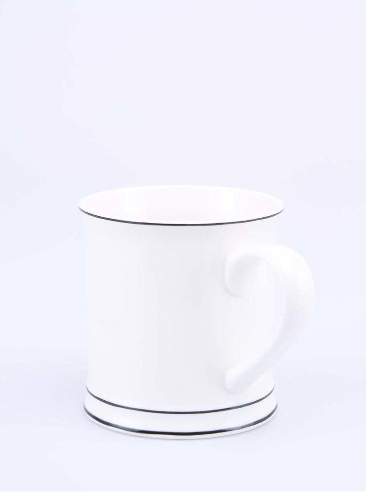 Bílý porcelánový hrnek Sass & Belle MRS