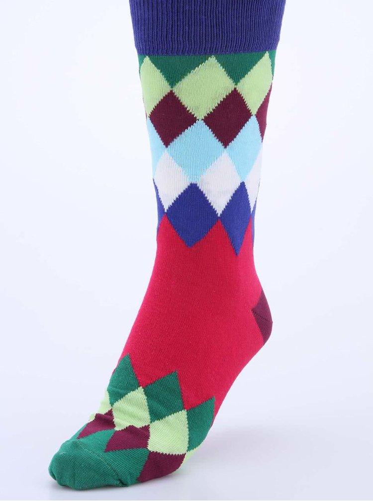 Set de trei șosete bărbătești colorate Oddsocks