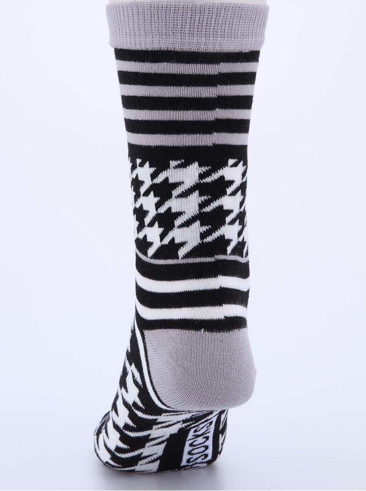 Súprava troch dámskych vzorkovaných ponožiek Oddsocks Kylie