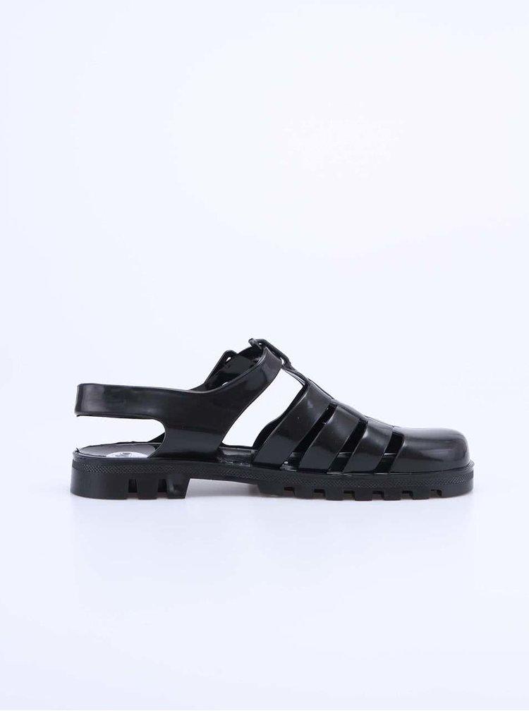 Sandale Maxi din plastic negre de la JuJu