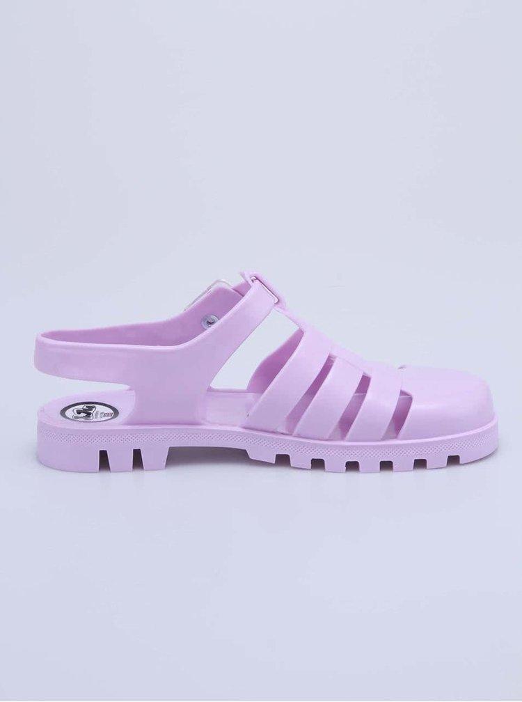 Sandale Maxi din plastic violet de la JuJu