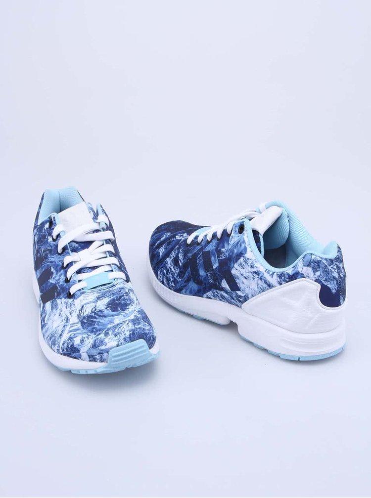 Modré pánské sportovní tenisky adidas Originals ZX Flux