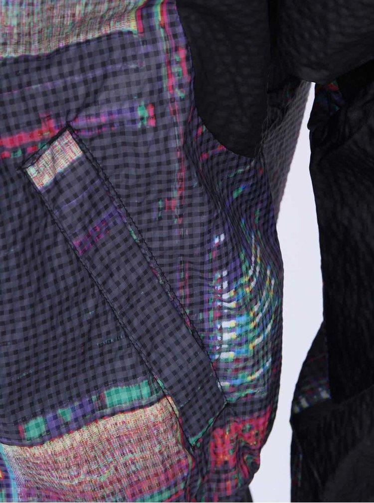 Černá dámská šusťáková bunda s potiskem adidas Originals Tokyo