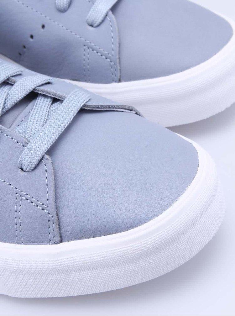 Sivé pánske tenisky adidas Originals Stan Smith