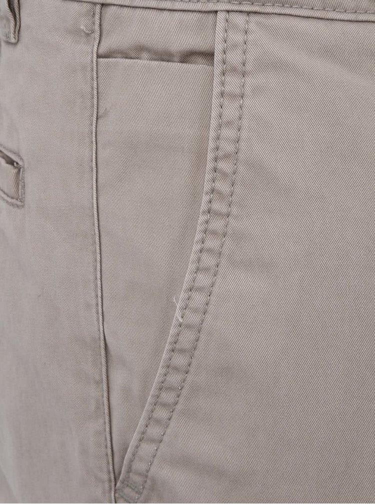 Pantaloni chino bej Shine Original