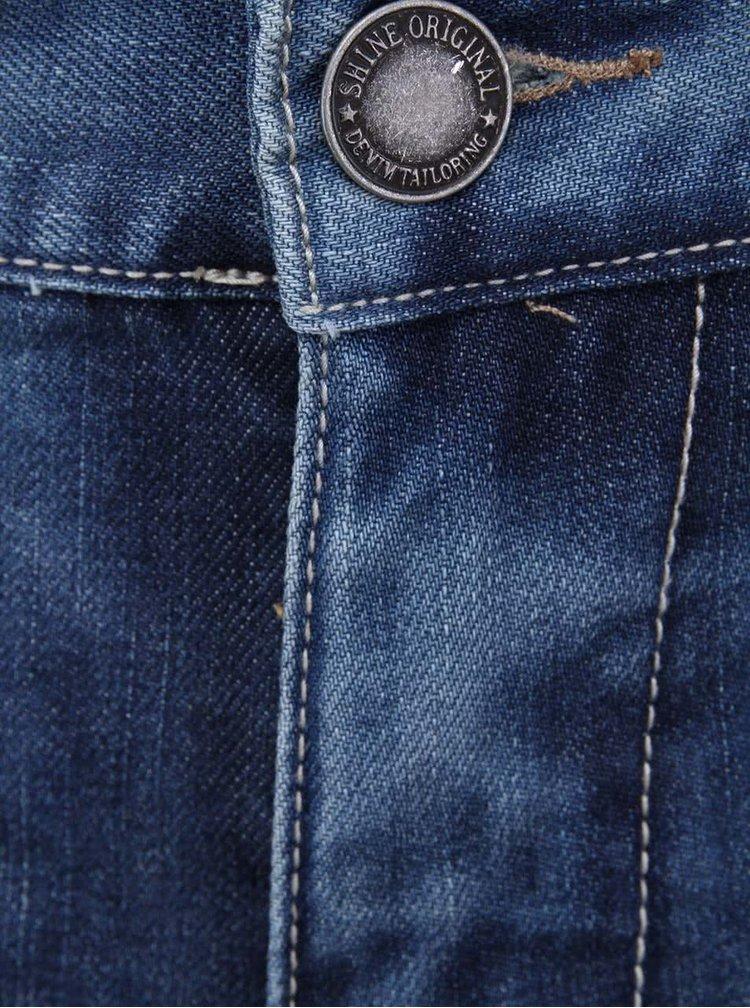 Jeanși Westside albaștri decolorați de la Shine Original