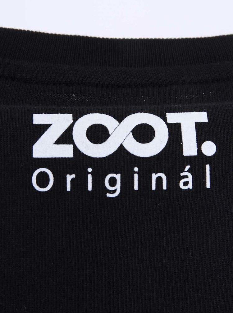 Čierne pánske tričko ZOOT Originál Tým ženicha