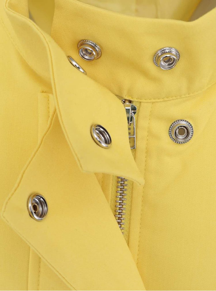 Jachetă lungă galbenă de la GINGER+SOUL