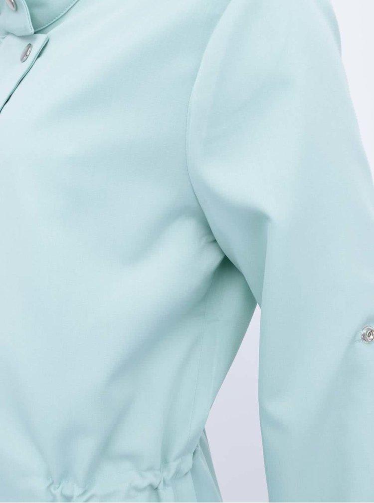 Jachetă lungă verde mentă de la GINGER+SOUL