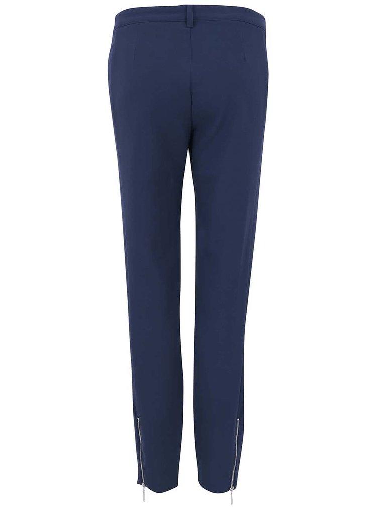 Tmavě modré kalhoty VERO MODA Sweet