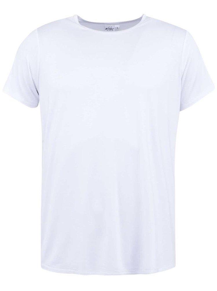 Biele bambusové tričko pod košeľu Bambutik Slim