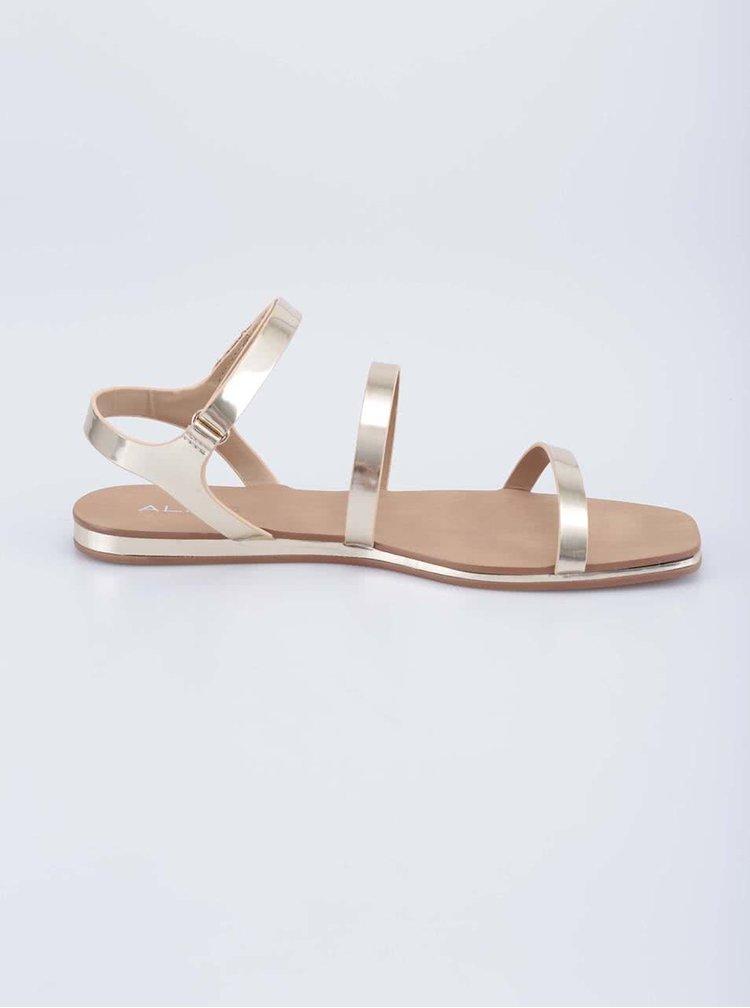 Zlaté sandálky ALDO Larieniel
