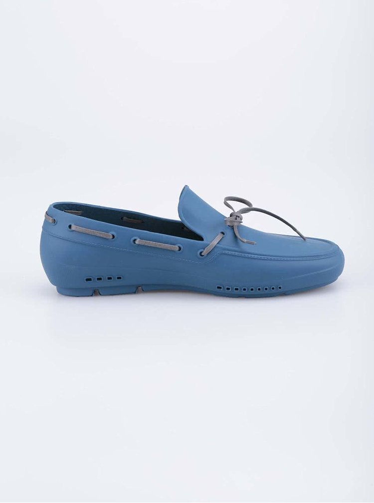 Modré pánske gumové mokasíny ALDO Parrilli