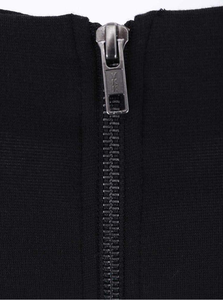 Černé šaty s krátkým rukávem VILA Tinny