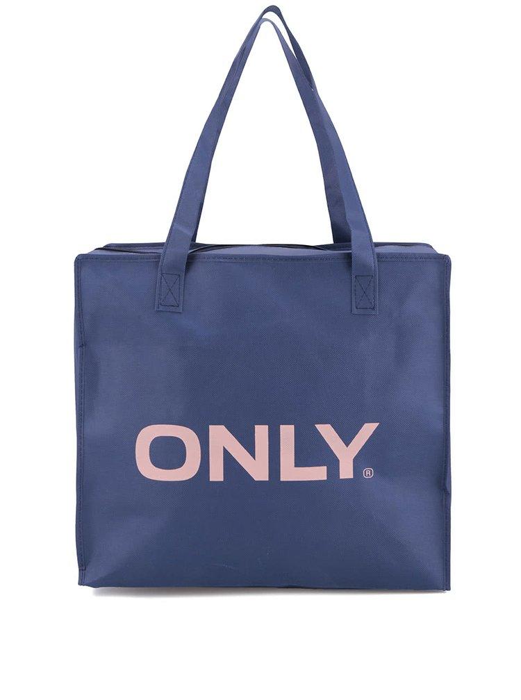 Modrá nákupní taška ONLY