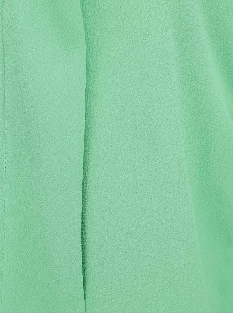 VERO MODA Mally Kimono Verde cu Mâneci Trei Sferturi