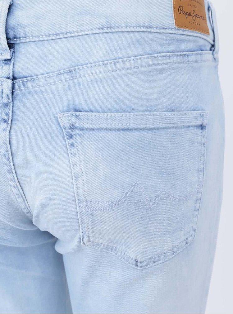 Světle modré dámské skinny džíny Pepe Jeans Pixie