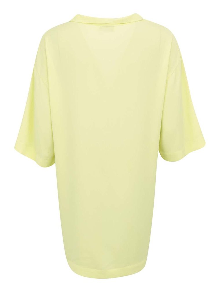 Žluté kimono s tříčtvrtečními rukávy VERO MODA Mally