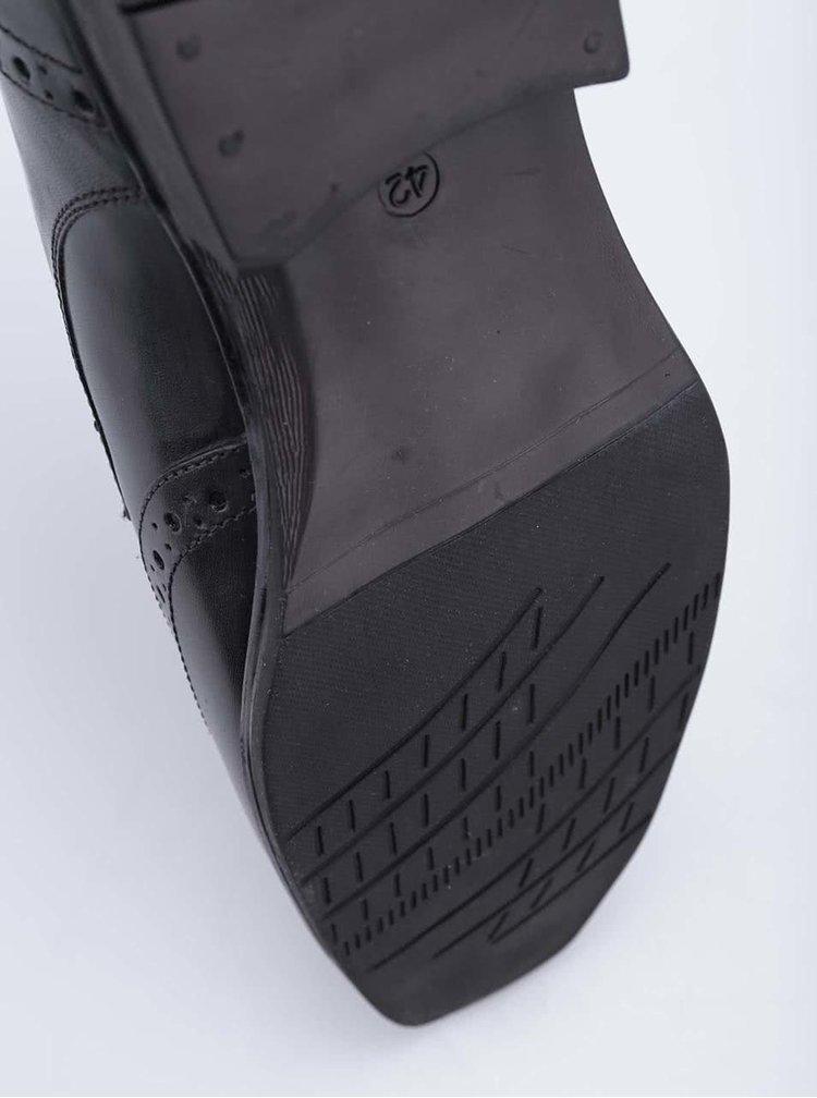 Pantofi negri din piele Dice Cass