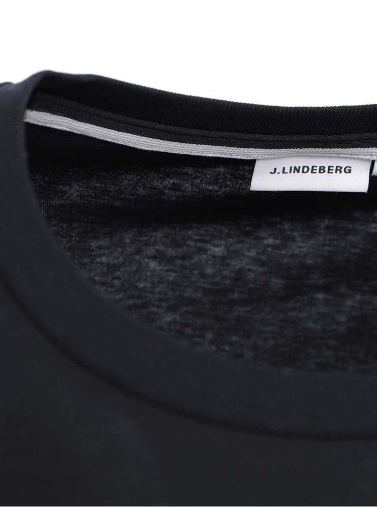 Tricou negru J.Lindenberg Sev Thorn