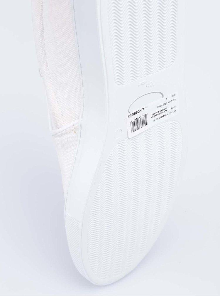Bílé nazouvací tenisky J.Lindenberg