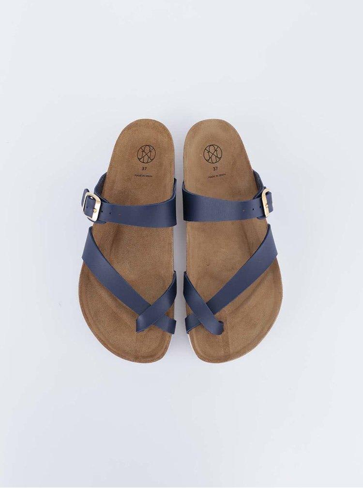 Sandale albastre cu talpa alba de la OJJU