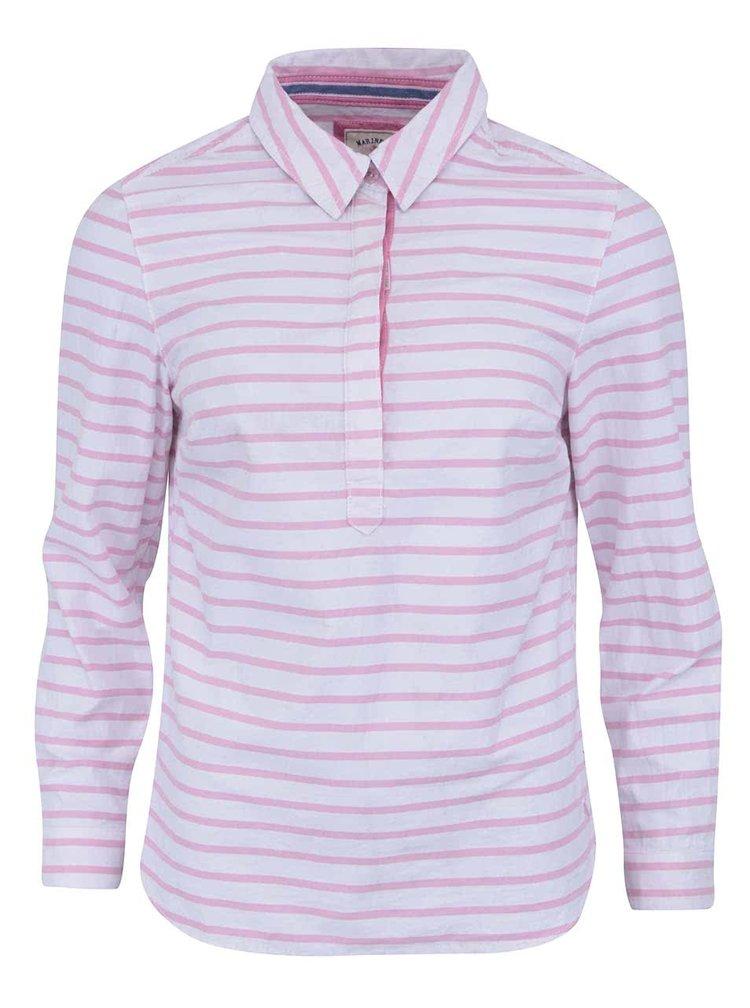 Bielo-ružová prúžkovaná košeľa Tom Joule Clovelly
