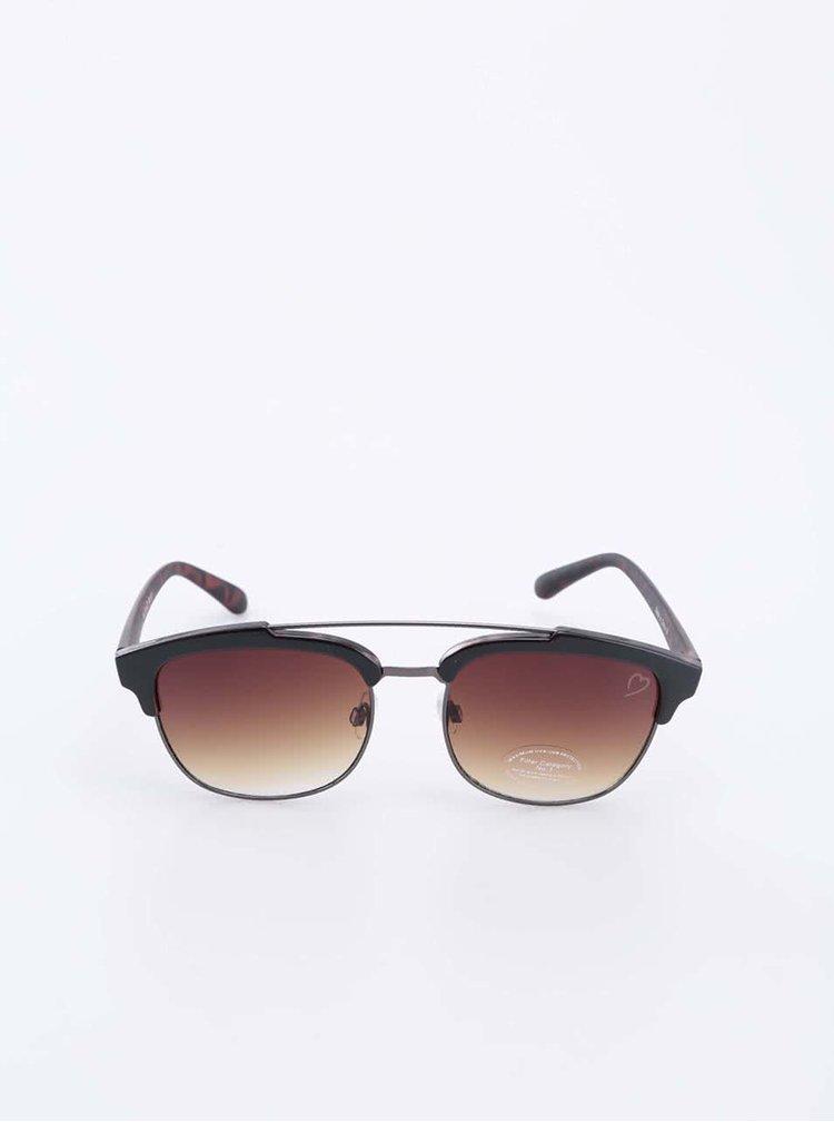 Hnedé slnečné okuliare Ruby Rocks